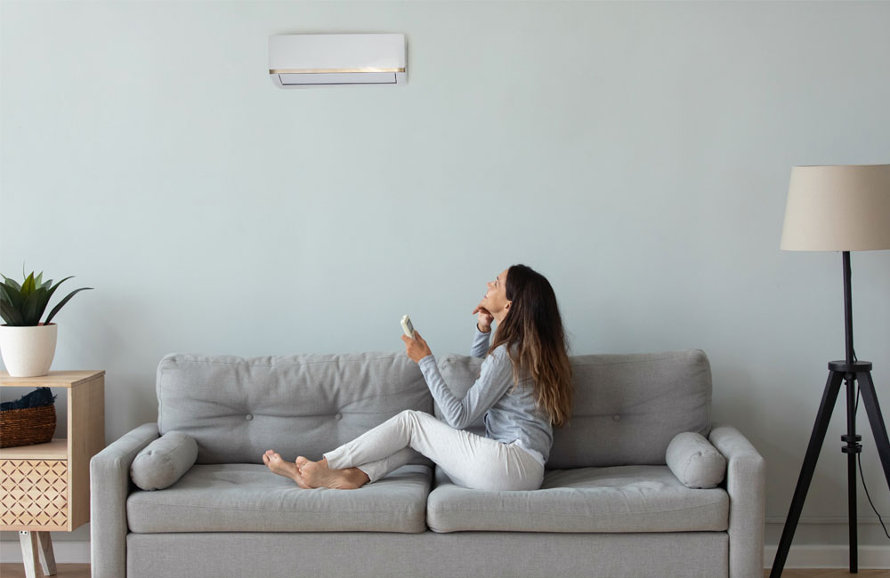 Air Conditioning basement